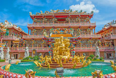 Chinois de dragon en Thaïlande Photographie stock libre de droits