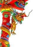 Chinois de dragon en Thaïlande Photo libre de droits