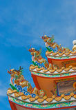 Chinois de dragon en Thaïlande Image libre de droits