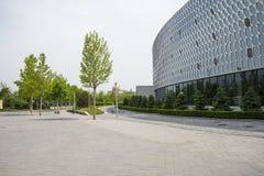 Chinois de l'Asie, Pékin, expo de jardin, le hall d'exposition principal Photos stock
