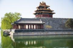 Chinois de l'Asie, Pékin, le palais impérial, Jiaolou photos libres de droits