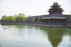 Chinois de l'Asie, Pékin, le palais impérial, Jiaolou photos stock