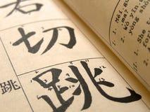 Chinois de mandarine Photographie stock libre de droits