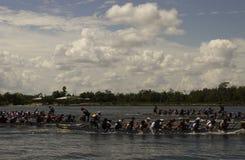 Chinois Dragon Boat Race Images libres de droits