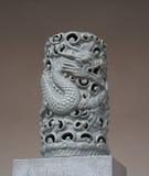 Chinois Dragon Sculpture Photos libres de droits