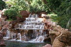 Chinois Dragon Waterfall Photos libres de droits