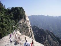 Chinois Huashan, province de Shaanxi Images libres de droits