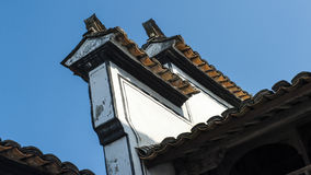 Chinois Qing Dynasty Architecture Photo stock