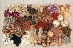 Chinois traditionnel Herb Selection Image libre de droits