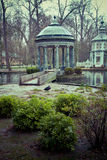 Chinoiserie.Ornamental fountains of the Palace of Aranjuez, Madr Royalty Free Stock Image