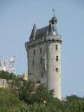Chinon Glockenturm Lizenzfreies Stockbild