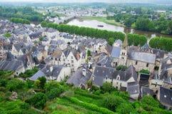 Chinon, le Val de Loire Photographie stock
