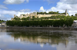 Chinon - Loire Valley - France Royalty Free Stock Photography