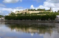 Chinon - Loire Valley - Francia fotografía de archivo libre de regalías