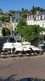 Chinon Loire Valley Frankreich lizenzfreie stockbilder