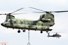 chinook ελικόπτερο Στοκ Φωτογραφία