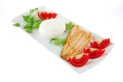 chinook τυριών μπριζόλα Στοκ Εικόνα