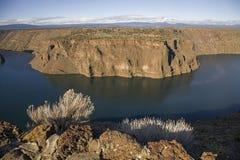 Chinook de Billy de lac en Orégon photo libre de droits