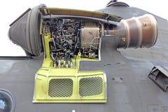 Chinook de Straalmotor van de Helikopter Stock Foto