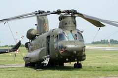 Chinook di RAF Immagine Stock