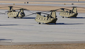 Chinook Helicopters Stock Photos