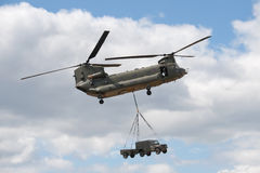 chinook helikopter Zdjęcia Royalty Free