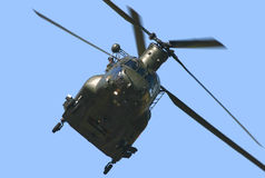 Chinook helikopter Royalty-vrije Stock Foto's