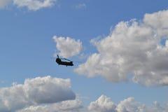 Chinook-Hubschrauber Lizenzfreie Stockfotos