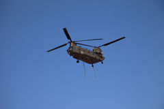 Chinook over Anglesey Royalty Free Stock Photography