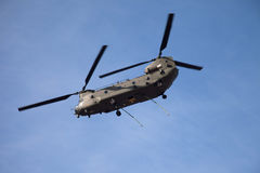 Chinook over Anglesey Stock Image