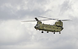 Chinook w lotach Zdjęcie Royalty Free