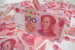 100 chinos Yuan Fotos de archivo libres de regalías