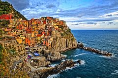 Chinqua Terre Italy Stock Photography