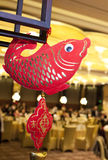 Chinse spring festival symbol in a resturant Stock Image