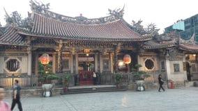 Chinse tempel Royaltyfria Bilder
