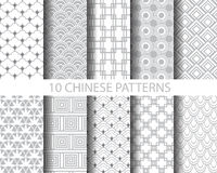 Chinses traditional patterns Stock Photo