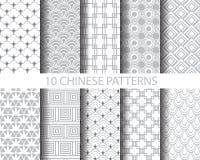 Chinses traditionele patronen vector illustratie
