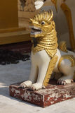 Chinthe  protects  pagoda Stock Photo