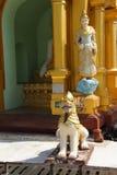 Chinthe  protects  pagoda Royalty Free Stock Photos