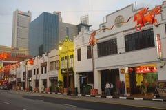 Chintown Сингапура стоковая фотография