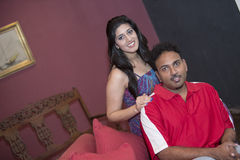 Chinty and wife Stock Image