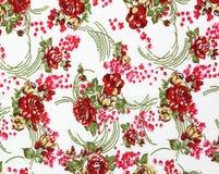 Chintz flowers wallpaper texture Royalty Free Stock Photo