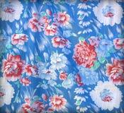 Chintz flowers wallpaper texture Stock Image