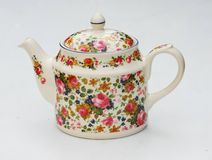 Chintz teapot Stock Photo
