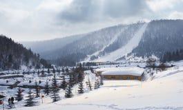 Chiny śnieżny miasteczko Obraz Stock