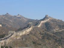 chiny 1 wielki mur. Obraz Royalty Free