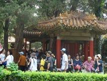 chiny beijing zakazane miasto fotografia royalty free