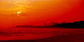 chiny denny południowy wschód słońca Obrazy Royalty Free