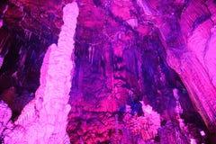 Chiny Guangxi Guilin dla okręg administracyjny admiralici wzrostów dla skały Zdjęcie Royalty Free