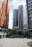 Chiny i Azja, Pekin, Sanlitun SOHO, nowożytni budynki, handlowy okręg zdjęcia stock